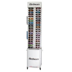 Floor display XL - 80 glasses + reserve box